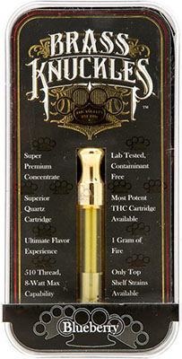 brass knuckles vape cartridges
