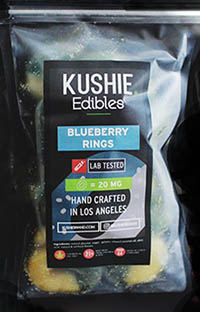 kushie 420mg Blueberry Rings