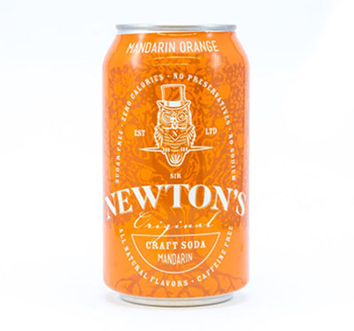 Sir Newtons mandarin Craft Soda