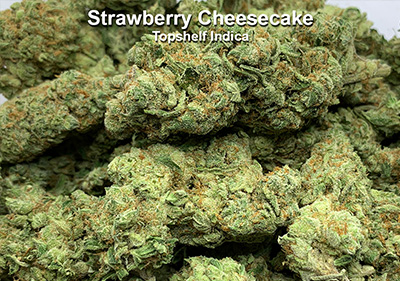 Strawberry Cheesecake Topshelf Hybrid